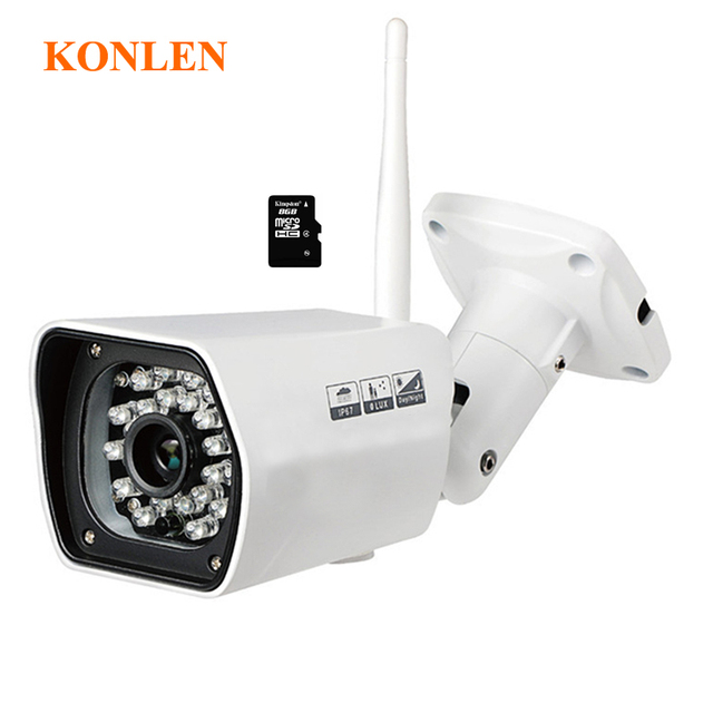 Full HD 1080 p Outdoor Ip kamera 2mp Wifi Verdrahtete Kugel ...