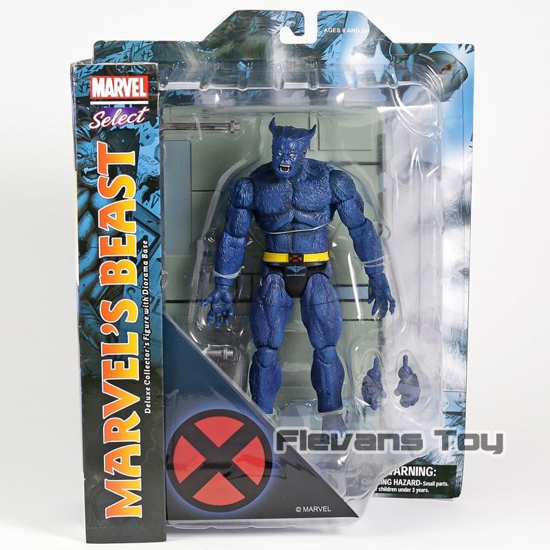 Marvel Selezionare X-MEN Bestia PVC Action Figure Da Collezione Model ToyMarvel Selezionare X-MEN Bestia PVC Action Figure Da Collezione Model Toy