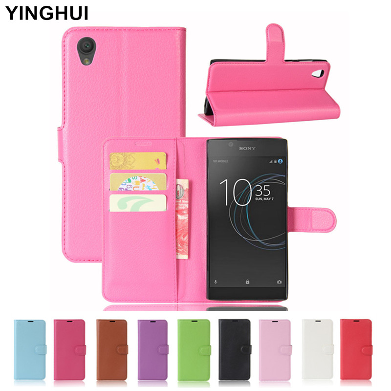 for sony xperia l1 case cover gsm hoesjes wallet pu. Black Bedroom Furniture Sets. Home Design Ideas