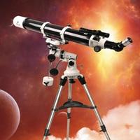 Gskyer EQ 80900 Telescope German Technology Starwatcher Refractors Saturn Ring Jupiter Moon Scope Astronomical Telesc