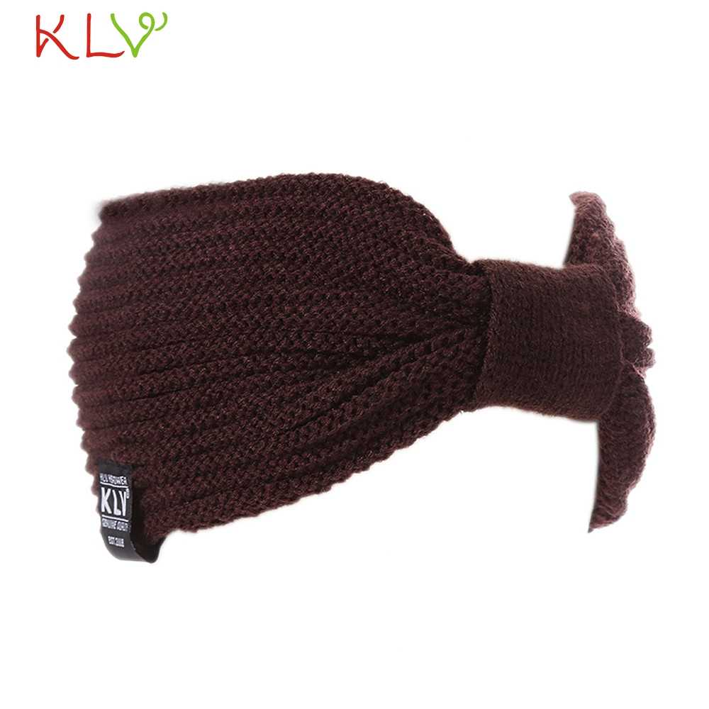 f70c6cdb2 Warm Winter Hat For Women Ladies Ponytail Baggy Beanie Women Stretch Cable  Wool Knitted Messy Bun Hats Slouchy Chic Cap Headwear