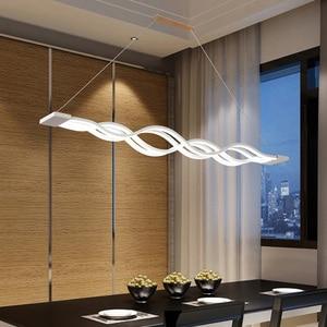 Image 5 - מודרני LED תליון אורות חדר אוכל מטבח גופי בית שינה דקור השעיה תליית מנורת מסעדת Luminaire
