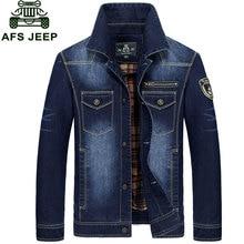 M 3XL New Fashion Retro Denim Jackets Mens Jeans Coats Spring Autumn Jackets Brand CLOTHES Denim