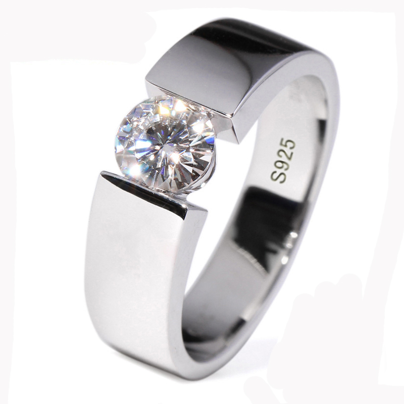 Prime Jewelry Collection Sterling Silver Elegant Womens Wedding Ring Sizes 4-15