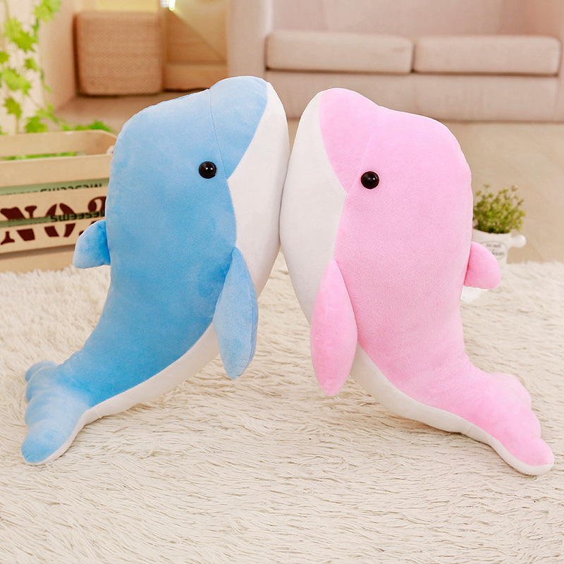20CM  High Quality Dolphins Pillow Doll Plush Toys Dolphins Doll Baby Gift Plush Animals Hobbies Kids Birthday Gift