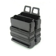 Tactical 5.56 version of FAST MAG quick pull Magazine Pouch module combination two sets for hunting Airsoft ware game 2 holders