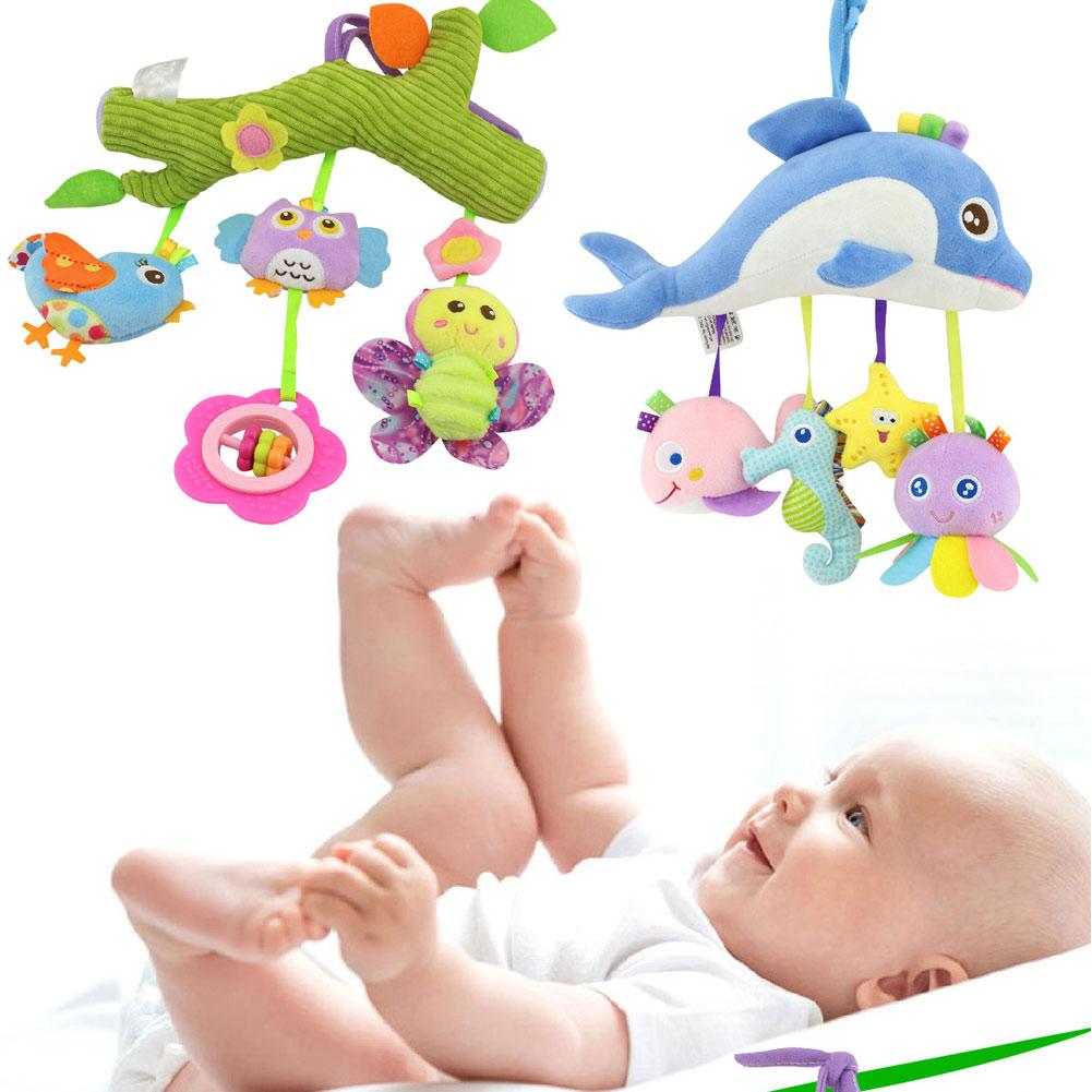 Fashion Children Plush Toys Cross Bar Type Colorful Animal