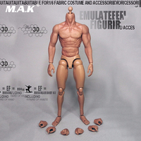 1/6 Scale Action Figure 3.0 Muscular Wolverine Logan Male Body With Seamless Arms Model Toys