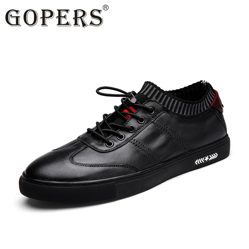 High Quality hot sale men vintage genuine leather shoes washing distressed men's fashion flat shoes lace up male casual footwear bosch 2607019451