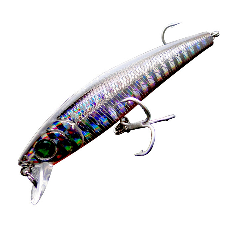 2015 New Top grade Floating Fishing lure Minnow lures Carp Fishing tackle Isca artificial Bait Wobbler Fish 75mm 8g Japan Hook trulinoya minnow fishing lures 80mm 8g hard bait carp fishing bass lure swimbait sea fishing isca artificial fly fishing tackle