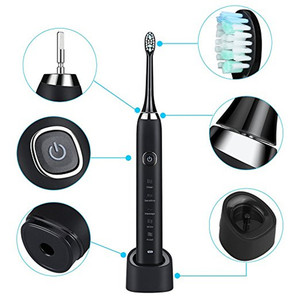 Image 5 - Sarmocare Ultra Sonic Sonicแปรงสีฟันไฟฟ้าชาร์จS100 5 รุ่นไร้สายIPX7 กันน้ำVibratorสำหรับแปรงสีฟัน