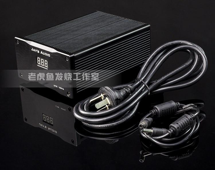 25VA Ultralow Noise HiFi Linear Power Supply DC 5V 9V 12V CAS XMOS TALEMA