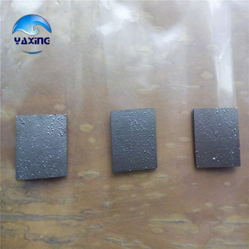 Folha de Carbono Pirolítica Grafite Pureza Alta 99% 20*20*1mm