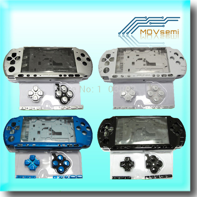 Image 4 - Free shipping For PSP3000 PSP 3000 Shell Old Version Game Console replacement full housing cover case with buttonspsp 3000psp replacementpsp 3000 shell -