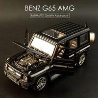1:32 Высокая моделирования Изысканный сплава автомобиля игрушечных автомобилей Benz G65 AMG властная городской автомобиль стиль модели подарок д...
