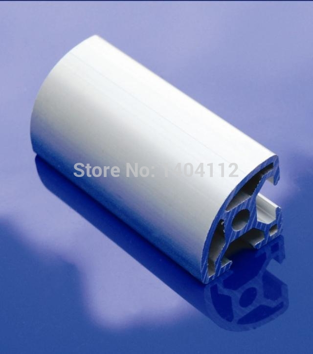 Aluminum Profile Aluminum Extrusion Profile 3030R 30*30R Commonly Used In Assembling Device Frame, Table And Display Stand