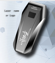USB Lighter Double Arc Windproof Metal Flameless Elektronisk Lighter Cigarette Lighter Plasma Lighter Gratis Laser Logo