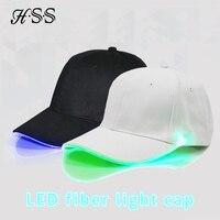 Flash LED Light Baseball Cap Summer Sunscreen Shade Cap Wild Casual Couple Glowing Cap