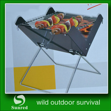 High quality Sport Portable BBQ Grill Charcoal Outdoor Folding Grill Charcoal Picnic For campaign entertainment