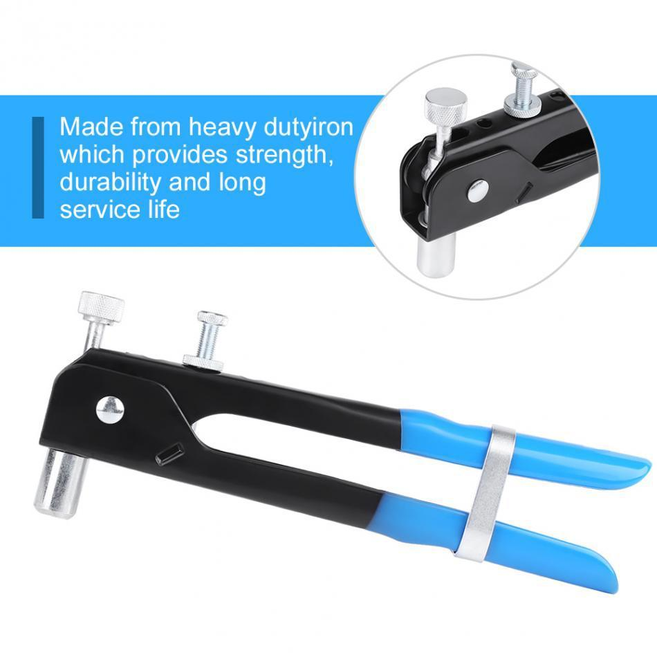FINDER 86pcs Heavy Hand Riveters Rivet Nut Gun Set Threaded Blind Insert Riveting Kit Nail Household Repair Tool Screw Home DIY
