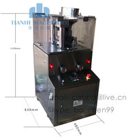 ZP 9B Enhanced Small Rotary Tablet Press Machine (pharmaceutical machinery,pharmaceutical equipment)