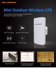 2 шт. 300 Мбит 5.8 ГГц открытый Точка Доступа WI-FI 11dBi Антенна беспроводной мост Comfast CF-E120A WI-FI CPE Nanostation wif