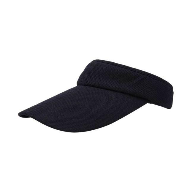 b7a19075f14fc Visera sombrero de tenis deporte Cap ajustable tenis playa sombreros para  las mujeres hombres 7 colores