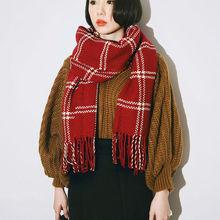 New Winter scarf Scarves Women Shawls Poncho Scarfs fashion Plaid Pashmina Luxury Brand Scarf Ladies Shawls