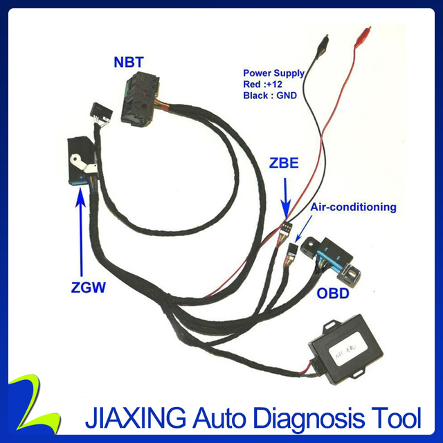 for BMW F01 F02 F10 F18 F25 Fxx NBT Ignition Emulator to ZGW For CAS4 Ignition ON Ignition Emulator For Fxx NBT Ignition Tester