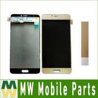 1 pieza/lote para pantalla LCD azul Vivo 6 seis + MONTAJE DE digitalizador de pantalla táctil blanco negro dorado con cinta