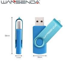 Wansenda 16gb USB Flash Drive 64gb 32gb Pen Drive 128gb memory stick 8gb 4gb