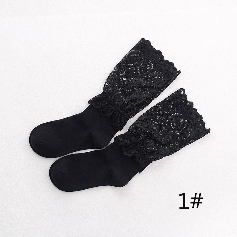 LNRRABC 2018 Summer Sexy Retro Lace Floral Mesh Women Girl Socks Elastic Fashion Lady Soft Short Socks Wholesale