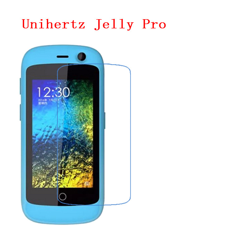 (3-Pack) For Unihertz Jelly Pro Advanced New Functional Type Drop Resistance Impact Hardened Nano 9H Screen Protector