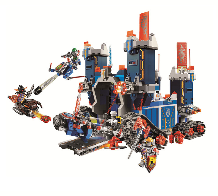 lepin Knights The Fortrex Combination Marvel Building Blocks Kits Toys Compatible 14006 Kids Gift