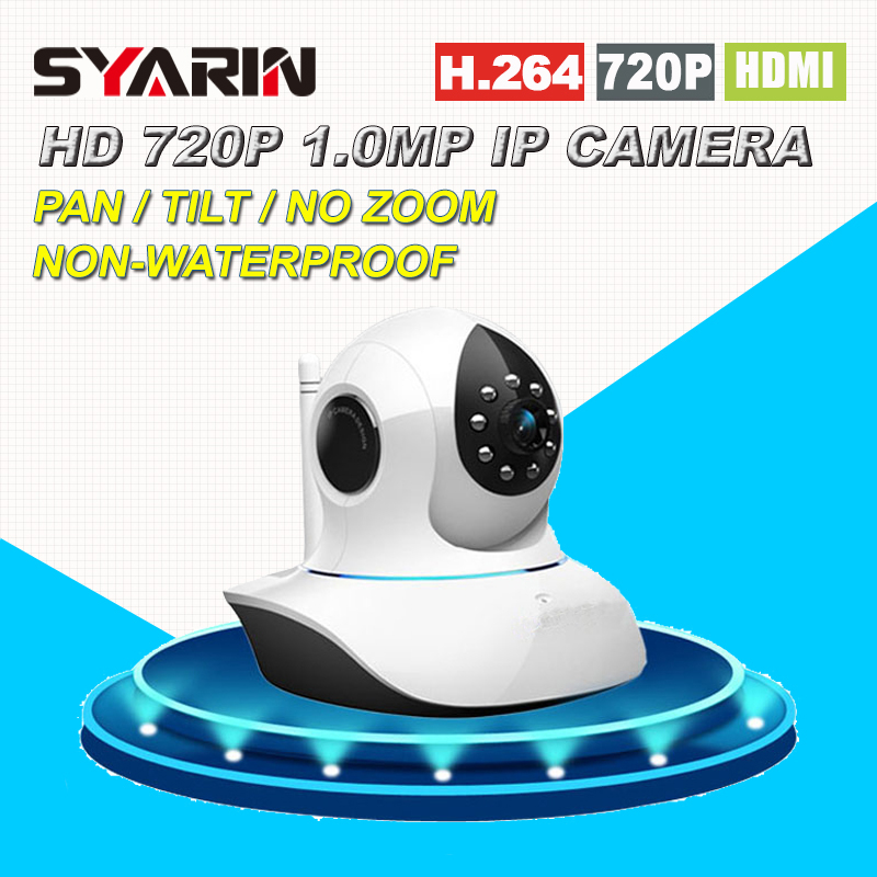 Home Protection HD 720P 1.0MP MegaPixel Wireless Wifi IP Camera with Pan/Tilt SD Card Slot IR Cut for Security Surveillance non standard die cut plastic combo cards die cut greeting card one big card with 3 mini key tag card