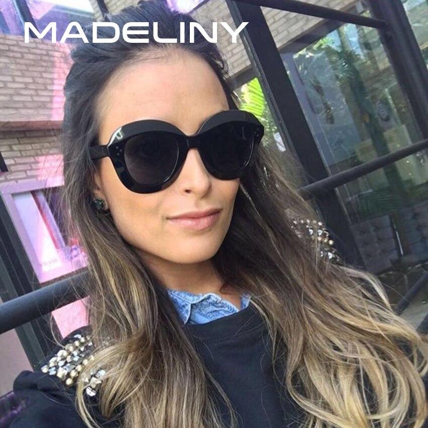 465b62e16fd8e MADELINY Moda Mulheres Rodada Óculos de Sol 2018 Clássicos Óculos De Sol  Feminino Óculos Marca Designer Shades Oculos de sol UV400 MA240 em Óculos  de sol de ...
