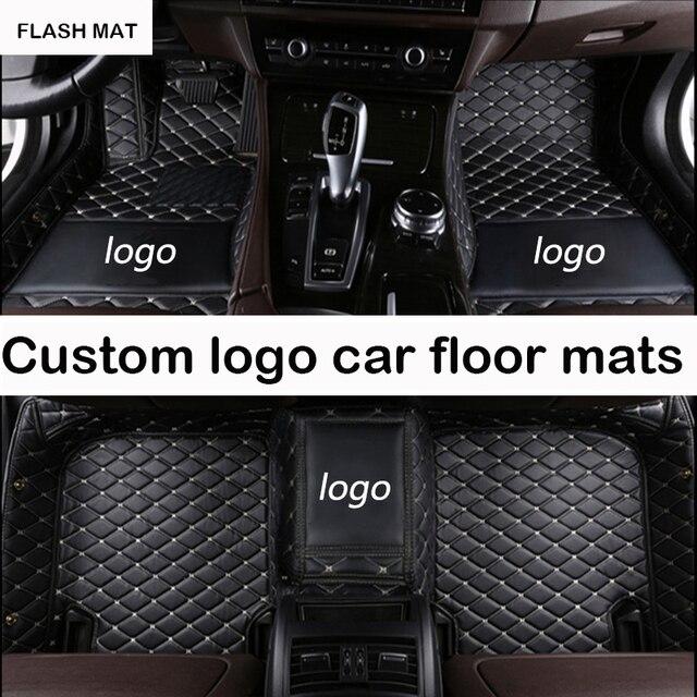 Custom Logo Car Floor Mats For Audi A3 Sportback A5 Sportback Tt Mk1