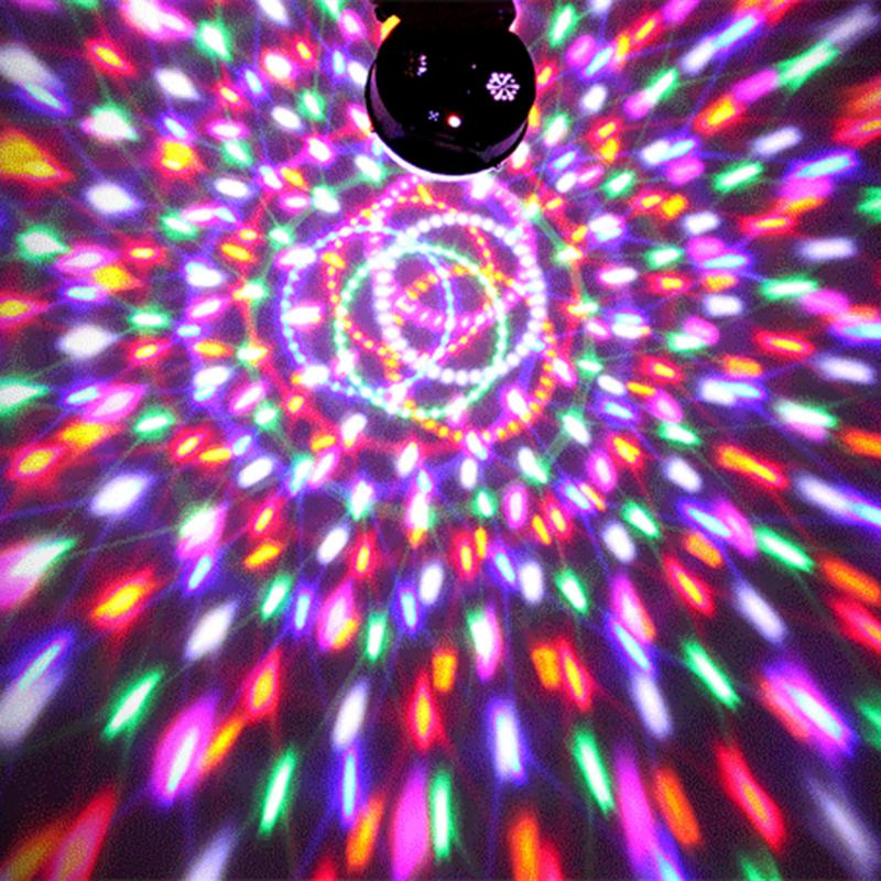 DMX512 RGB LED Plastic Lighting Crystal Magic Diamond Ball Laser Light DMX Stage DJ Effect Lighting for Home Party Entertainment rg mini 3 lens 24 patterns led laser projector stage lighting effect 3w blue for dj disco party club laser
