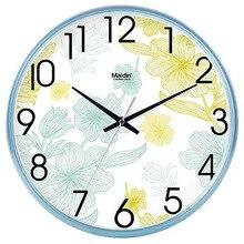 Creative Wall Clock Modern Fashion Home Living Room Bedroom Art Charts Mute Calendar Quartz Clocks 50Q176
