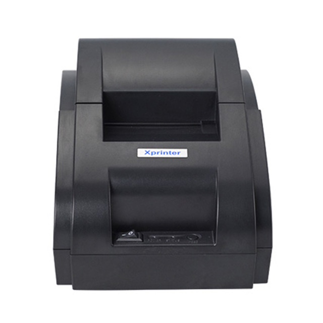 Xprinter POS 58 USB & USB + Bluetooth for Android and IOS 58mm Thermal Small Ticket Printer Bill Machine 3