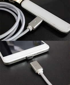 Image 5 - Strong Magnetic Charger Aluminum Alloy Cable Micro USB Cable For Android Mobile Phone iPhone Type C Fast Charge Wire Dust proof