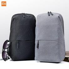 Original Xiaomiกระเป๋ากระเป๋าเป้สะพายหลังกระเป๋ากันน้ำสลิงUrban Leisure Leisureกีฬากระเป๋าเป้สะพายหลังUnisex