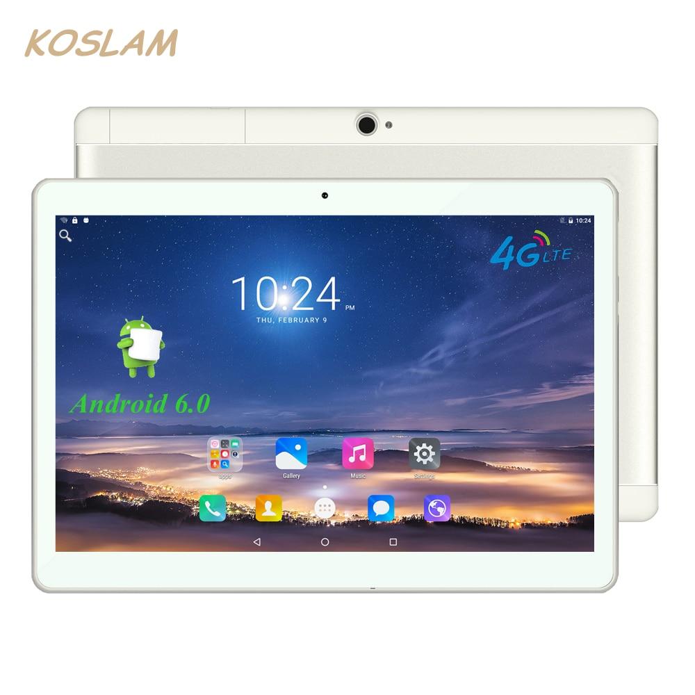 """Prix pour 4G Android 6.0 Tablet PC Tab Pad 10 Pouce 1920x1200 IPS Quad Core 2 GB RAM 16 GB ROM Double SIM Carte LTD FDD Appel Téléphonique 10 """"Phablet"""