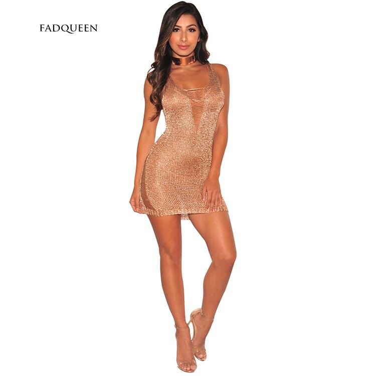 Золотые мини платьях