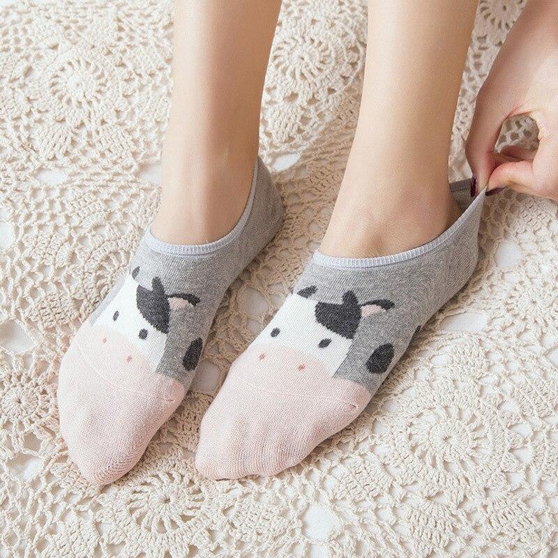 Hot DealsSummer Socks Spring 3-D Stealth Cartoon-Animals Girl Cotton Women Ladies 10pieces--5-Pairs