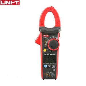 UNI-T UT216C 600A Digital Clamp Meters AC DC Current Auto Range Multimeters NCV V.F.C Diode LCD Flashlight Temperature Tester