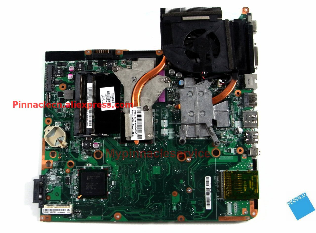 518432-001 with CPU Motherboard for HP DV6 PM45 chipset instead 571187-001 571188-001 509450-001 509451-001 645386 001