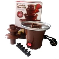 Creative Design Mini Chocolate Fountain For Sale Fondue Machine Chocolate Melts With Heating