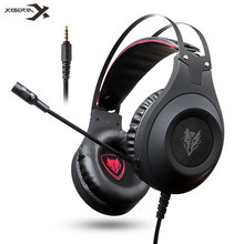XIBERIA Headset NUBWO N2 3.5mm Stereo Gaming Headphones casque with Microphone for Computer Gamer/PS4/New Xbox One/Laptop/Phone xiberia brand gaming headphones nubwo n2u wired usb headset gamer with microphone volume control led for computer laptop fone
