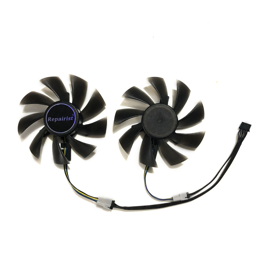 RX480 GPU refroidisseur fans Pour Gigabyte RX 480 GTX 1060/1050 FORCES de VENT GTX 1050Ti G1 Gaming VGA Carte De Refroidissement